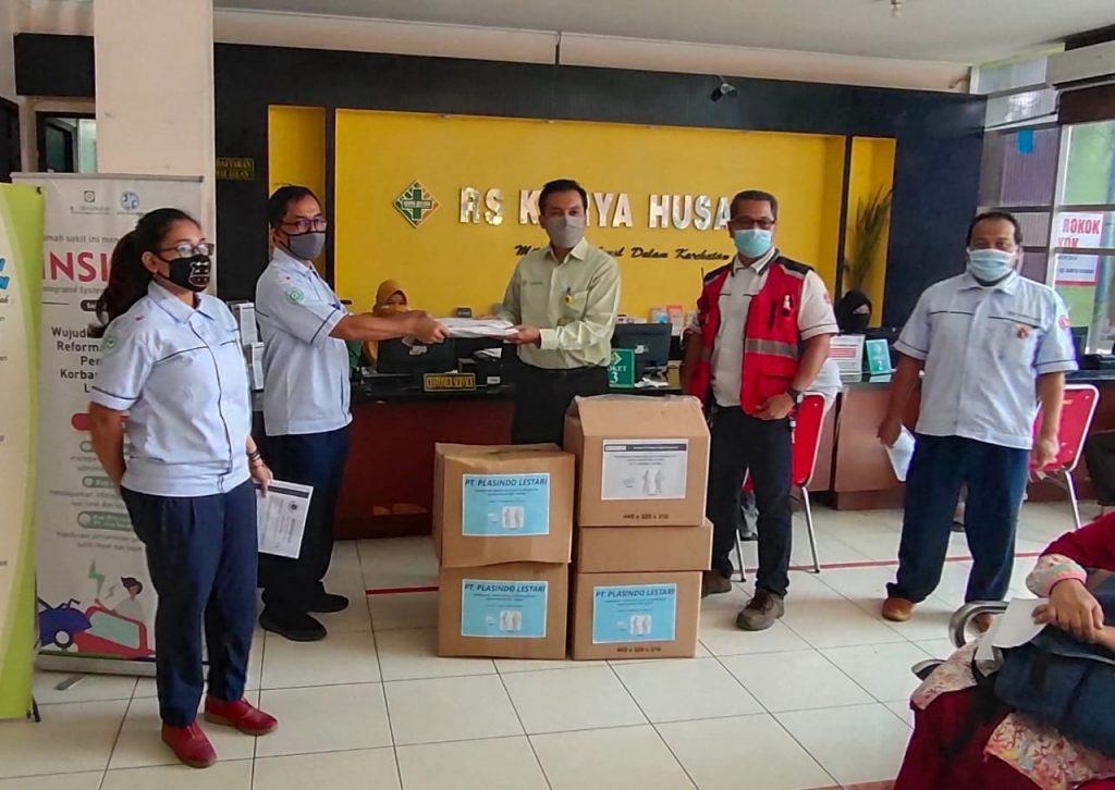 APD Donation from Plasindo Lestari Flexible Packaging